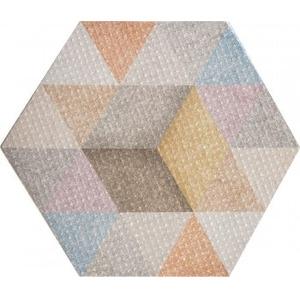 Фото Плитка АТЕМ Hexagon R Rain Mix Пол