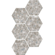 Керамогранит Equipe Urban Hexagon Forest Silver 23615 Стена/Пол