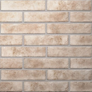 Фото Керамогранит Golden Tile Baker Street Brickstyle Светло-бежевый Стена
