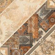 Плитка Интеркерама Carpets Коричневый Темный 84032 Пол