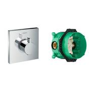 Термостат Hansgrohe ShowerSelect Highfow 15760000 + скрытая часть Hansgrohe Ibox Universal 01800180