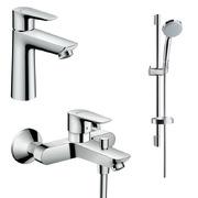 Набор смесителей для ванны Hansgrohe Talis  (71710000+71740000+27772000)