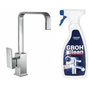 Смеситель для кухни Imprese Elanta 55450 + чистящее средство Grohe Grohclean 48166000