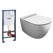 Инсталляция Grohe Rapid SL 38721001 + Simas Vignoni Rimless VI18 + F85 + VI004 Soft Close