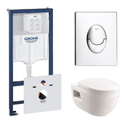 Инсталляция Grohe Rapid SL 38721001 + Devit Project 3120147 с сиденьем Soft-close
